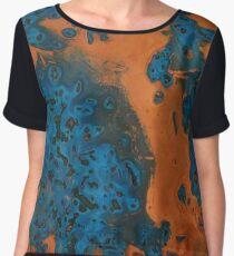 Copper Blue Women's Chiffon Top
