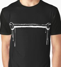 Splatter Spanner (white) Graphic T-Shirt