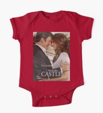 Caskett Wedding One Piece - Short Sleeve