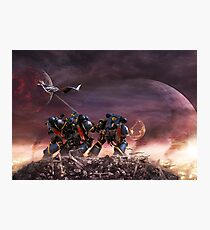 Space Marines Photographic Print
