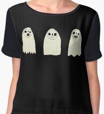 Three Spooky Ghosts Chiffon Top
