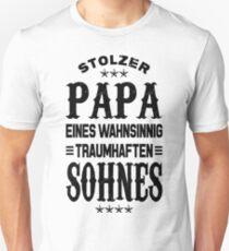 Stolzer Papa Sohn T-Shirt
