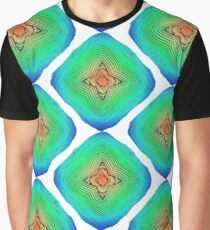 Abstract colorful seamless pattern ornament Graphic T-Shirt
