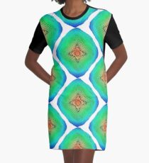 Abstract colorful seamless pattern ornament Graphic T-Shirt Dress