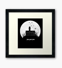 Home Sweet Home - Haunted House Framed Print