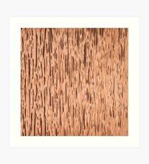 Rust Copper Textured Art Print