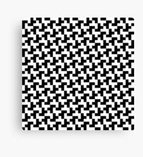 Pixel pattern Canvas Print