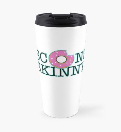 Wisconsin Skinny Donuts Travel Mug