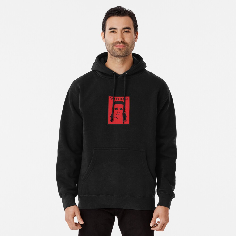 Fear the Mullet Pullover Hoodie