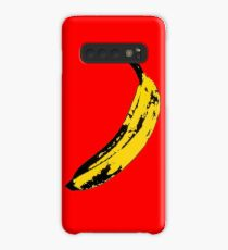 Big Yellow Banana - Red Case/Skin for Samsung Galaxy