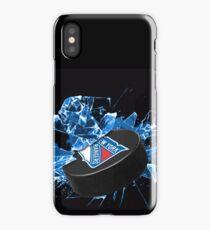 New York Rangers Puck iPhone Case/Skin