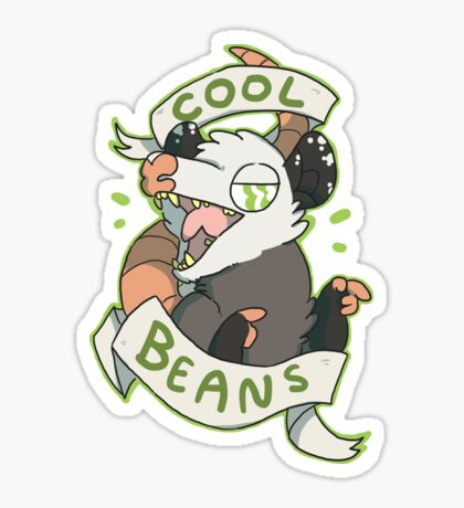 Cool Beans Sticker