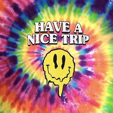 Cara sonriente de ácido - tenga un buen viaje de hoodlum918