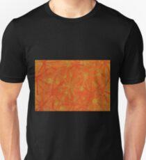 Orange Yellow Bursts T-Shirt