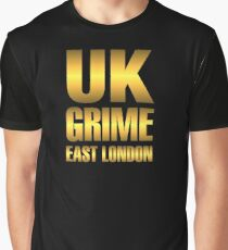 Golden UK grime Graphic T-Shirt