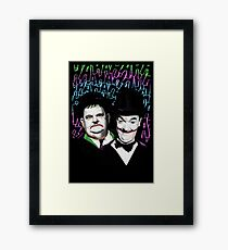 A Pair of Jokers Framed Print