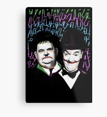 A Pair of Jokers Metal Print
