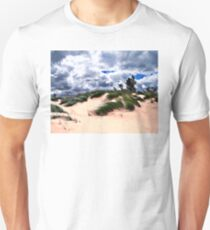 Sandy Beach Dune Grass Unisex T-Shirt
