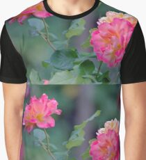 Cottage Garden Roses Graphic T-Shirt