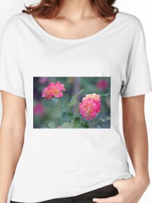 Cottage Garden Roses Women's Relaxed Fit T-Shirt