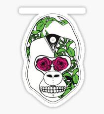 Sugar Skull Gorilla  Sticker