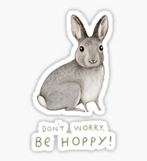 Don't Worry, Be Hoppy! Sticker