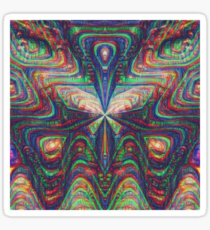 Warrior #DeepDream frequency Sticker
