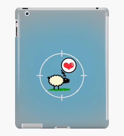 Sheep in Love VRS2 iPad Case/Skin