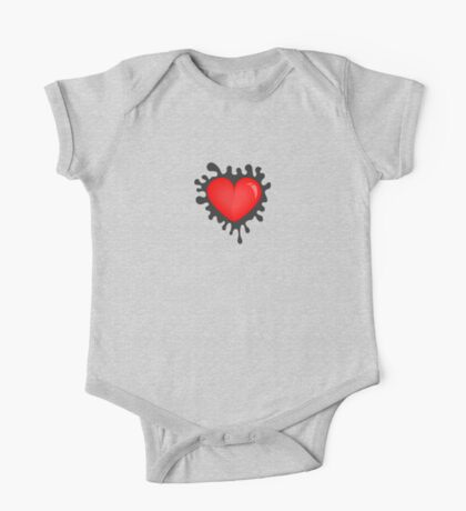 Heart in a splash VRS2 Kids Clothes