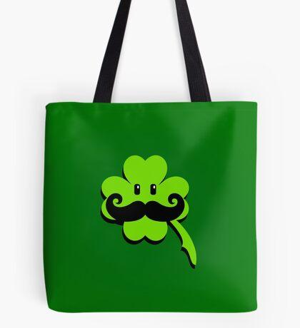 St Patrick: Irish Mustache VRS2 Tote Bag