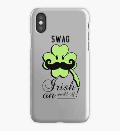 St Patrick: Irish on VRS2 iPhone Case