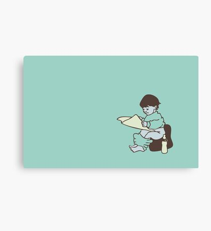 Young Reader VRS2 Canvas Print