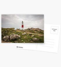 Portland Bill Lighthouse in Dorset, England UK Postcards