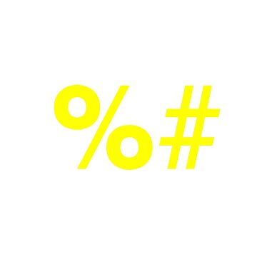 Fuckyer Hashtag by jonnycottone