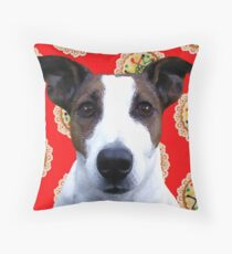 Doggy Biscuits Throw Pillow