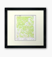 USGS TOPO Map Arkansas AR Dover 258361 1961 24000 Framed Print