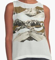 Golden Zugspitze // White Contrast Tank