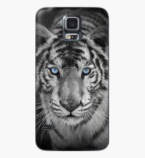Funda/vinilo para Samsung Galaxy Tigre de Bengala de ojos azules