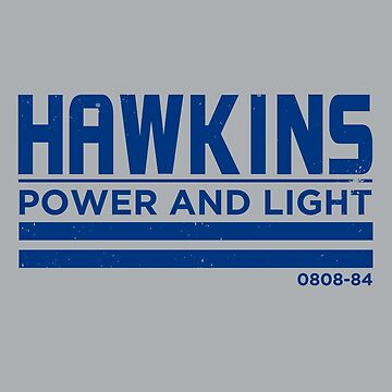 Hawkins Light And Power : Stranger Things by WonkyRobot