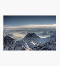 Zugspitze Photographic Print