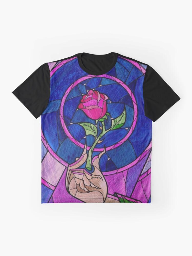 Vista alternativa de Camiseta gráfica Single Rose