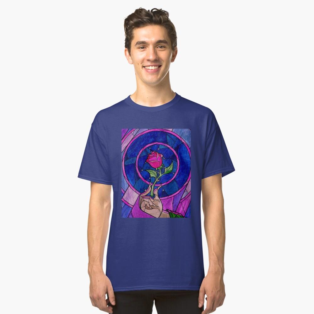 Single Rose Camiseta clásica