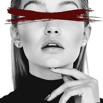 Dead Pop Stars of Our Youth - Gigi Hadid by NotEvenOriginal