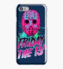 FRIDAY THE 13TH Neon V iPhone Case/Skin
