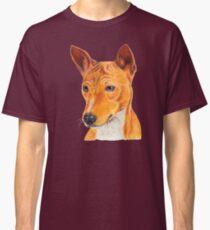 Basenji - color tan. African dogbreed Classic T-Shirt
