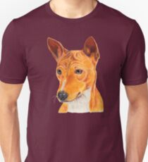 Basenji - color tan. African dogbreed Unisex T-Shirt