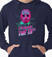 FRIDAY THE 13TH Neon V Lightweight Hoodie
