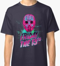 FRIDAY THE 13TH Neon V Classic T-Shirt