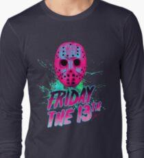 FRIDAY THE 13TH Neon V Long Sleeve T-Shirt