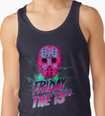 FRIDAY THE 13TH Neon V Tank Top